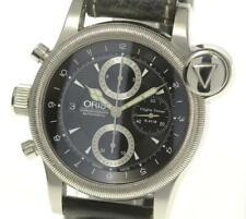 ORIS Flight timer R4118 Chronograph Black Dial Automatic Men's Watch_532820