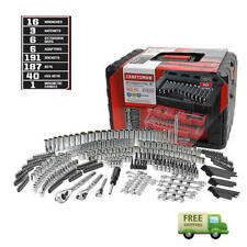 Craftsman 450 Piece Mechanic Tool Set With 3 Drawer Case Box #311 #254 #230 NIB