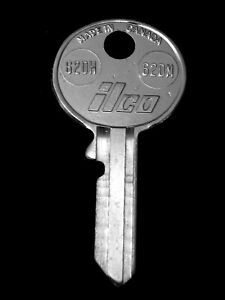 "62DH Early British KEY BLANK ""MRN"" 1930s-46 JAGUAR MG AUSTIN SUNBEAM HUMBER SAAB"