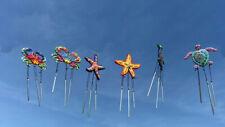 Set Decorativo Coleccionable Carillón de viento. tortuga, estrellas de mar & Cangrejo
