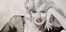 Frank Ritter: In your eyes Marilyn Monroe Keilrahmen-Bild 140x70 Leinwand