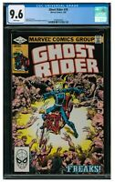 "Ghost Rider #70 (1982) ""Freaks"" Marvel Bronze Age Beauty CGC 9.6 AA202"