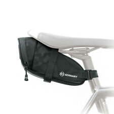 SKS Bicycle Bag - Durable Water Resistant 800ml Black Saddlebag with Hook
