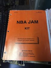 Midway NBA JAM KIT Arcade Video Game Manual- good original