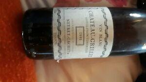 vin blanc chateau grillet 1991