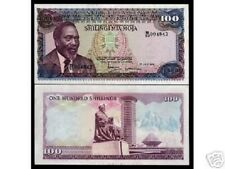 KENYA 100 SHILLINGS 1978 P18 KENYATTA LARGE SIZE UNC BILL AFRICA MONEY BANK NOTE