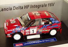 1/18 Martini Lancia Delta HF 16v INTEGRALE ganador Sanremo 1989 M. BIASION