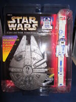 Star Wars Collector Timepiece R2 D2 with Millennium Falcon Case
