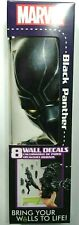 Marvel Black Panther 8 Wall Decals Removable and Repositionable Wall Stickers