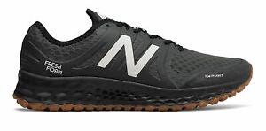 New Balance Men's Kaymin Trail Shoes Black with White