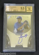 2013 Bowman Sterling Julio Urias Auto Autograph Dodger BGS 9.5 Gem Mint PSA?