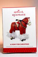 Hallmark: A Pony for Christmas - Series 16th - 2013 Ornament
