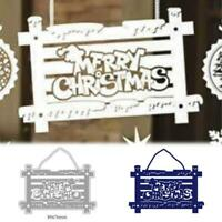 Merry Christmas Tag Cutting Dies Stencil DIY Scrapbooking Album Paper Card Craft