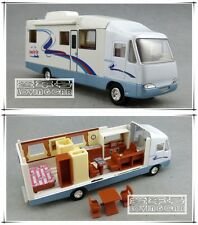 19cm RV Motorhome Trailer Camper Trip Car Model Toys X1PC & Christmas Gift