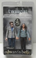 """NECA Twilight Edward and Bella 7"""" Deluxe Action Figure 2 pack 2009 NIP"""