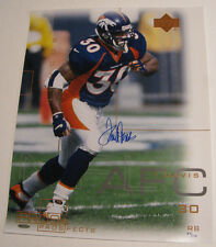 TERRELL DAVIS Denver Broncos Signed / Autographed 16x20 Photo UDA Upper Deck COA