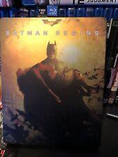Batman Begins steel book (Blu-ray Disc, 2013)