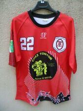 Maillot rugby Lycée Agricole TOULOUSE AUZEVILLE porté n°22  NOW ONE shirt XL