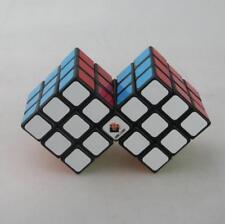 HMQC Cubetwist Siamese 2PCS Magic Cube Twist Puzzle for Child Brain