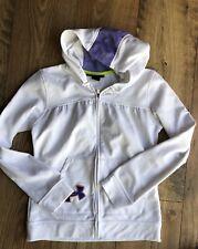 Girl's UNDER ARMOUR Full-Zip hoodie Sweatshirt Size YMD Youth Medium M Loose