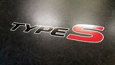 X2 HONDA CIVIC TYPE S Premium Lato Adesivo Decalcomanie