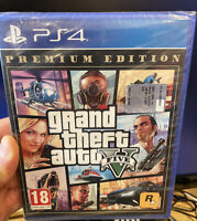 GTA 5 GRAND THEFT AUTO 5 V PREMIUM EDITION PS4 NUOVO DI ZECCA SIGILLATO