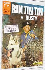 PETIT FORMAT VEDETTES T.V. RIN TIN TIN & RUSTY N°20 1961 EO SAGE