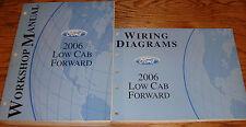 2006 Ford Low Cab Forward Truck Shop Service Manual + EVTM Wiring Diagram Set 06