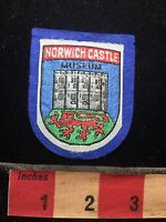 NORWICH CASTLE MUSEUM England Patch UK / United Kingdom C75D