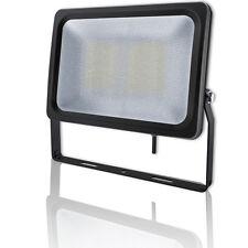 LED Außenstrahler Fluter Slim schwarz 100W 4000K A+ Top Qualität vom Fachhandel