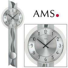 AMS Reloj de pared 7216 péndulo cuarzo salón