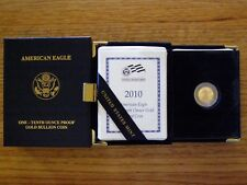 2010-W $5 1/10 oz GOLD AMERICAN EAGLE PROOF (PG4)