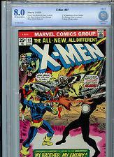 The Uncanny X-Men #97 Marvel Comics CBCS 8.0 1976 1st Lilandra