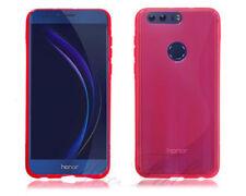 Fundas y carcasas transparentes Huawei color principal rosa para teléfonos móviles y PDAs