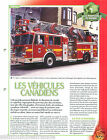 Vehicles Firefighting apparatus Grande Echelle Canada Pompier FICHE FIREFIGHTER