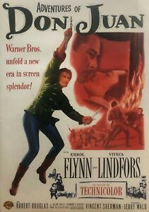 ADVENTURES OF DON JUAN DVD 1948 In Colour