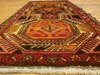 "Vintage 1950-1960's Avshar Tribal Rug 1'8"" × 3'5"""