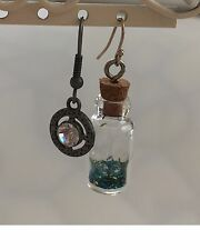 Non-Matching Earrings, Modernistic Steampunk & Industrial Chic, by Odyssey-Blue