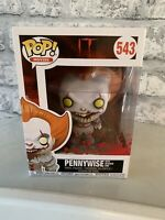IT Pennywise with severed arm 543 Rare Funko Pop Figure