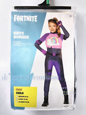 Fortnite Kids Large (12-14) Brite Bomber Costume Spirit Halloween New
