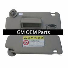 Interior inside Sun Visor Shade LH Gray For GM Chevrolet Sonic 2012+ OEM Parts