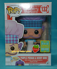 Strawberry Shortcake - Purple Pieman Scented SCE 2016 Exclusive SDCC + Protector