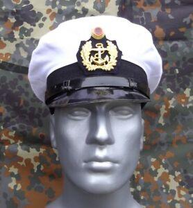 BW Schirmmütze Marine, Kapitänsmütze, Marinemütze, gebraucht