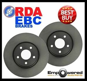 REAR DISC BRAKE ROTORS for Mercedes Benz W124 300CE 24V Coupe 1990-1992 RDA267