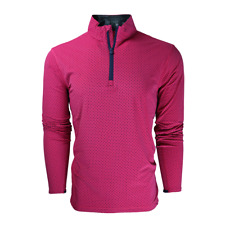 1 Nwt Greyson (Rlx) Tate Patriot Dragonfly Men'S Golf Pullover, Size: Small