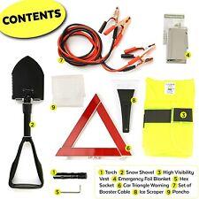 Kit Urgence Secours Voiture Securite Voiture Auto Assistance 8-en-1