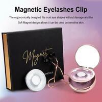 False Quantum Soft Eyelashes Tool Set Curler with Eyelash Magnetic Magnetic