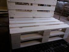 Divano in legno 120x80 con Pallet Bancali EUR  EPAL con schienale ripiegabile