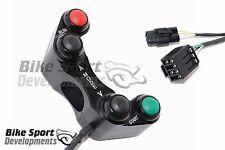Suzuki GSXR 4 button handlebar race switch. Stop/Run, Mode-meter up/down, Start