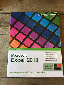 9781285169330 New Perspectives on Microsoft Excel 2013 Comprehensive Textbook